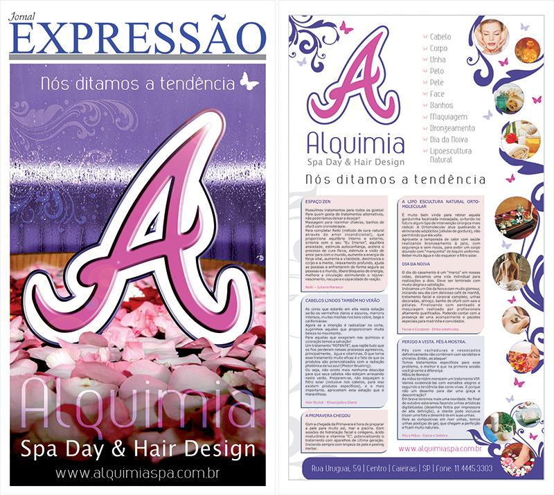 capa jornal alquimia