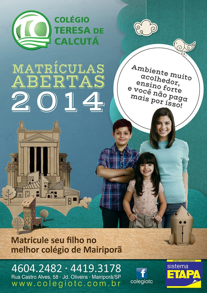 cartazA3matriculasabertas2014
