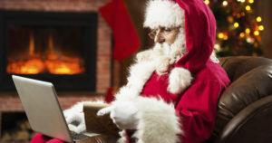 Recursos digitais como e-mail marketing facilitam para que as empresas enviem mensagens de Natal e fim de ano para seus clientes