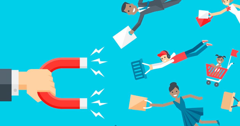 Como uma empresa de marketing digital atua na captação de leads?